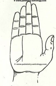Branches or trident on fate line prediction- free online palmistry